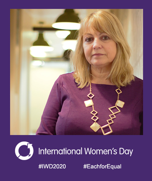 Anne Cantelo on IWD2020