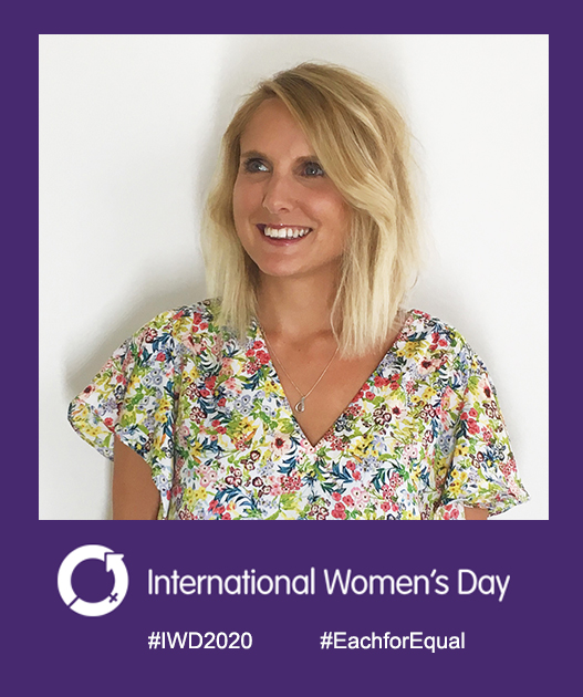 Holly Pither on IWD2020
